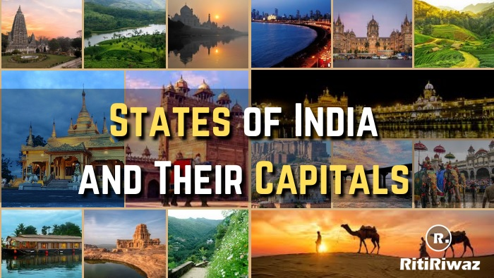 States of India and their capitals