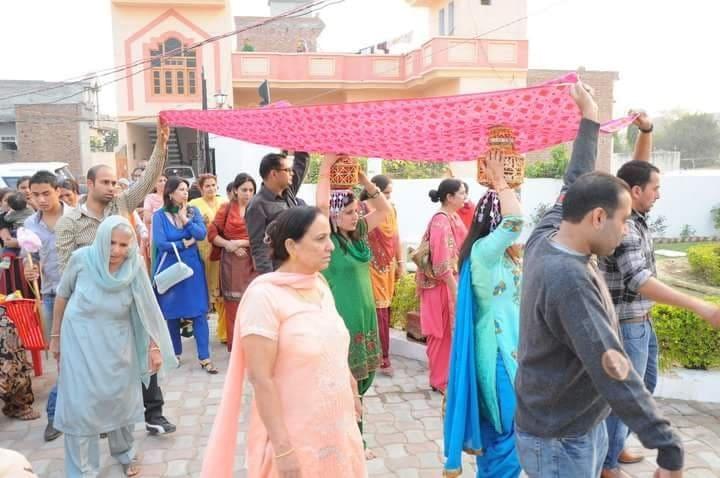 Ghadoli ceremony