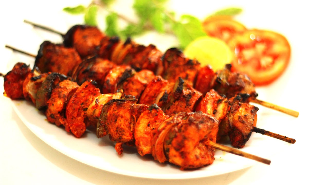 Murgh Tikka – Spiced Skewered Chicken Recipe