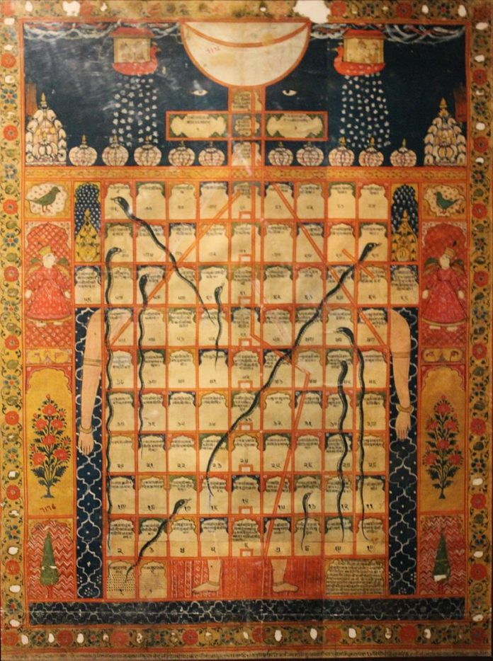 Ancient Snakes and Ladders