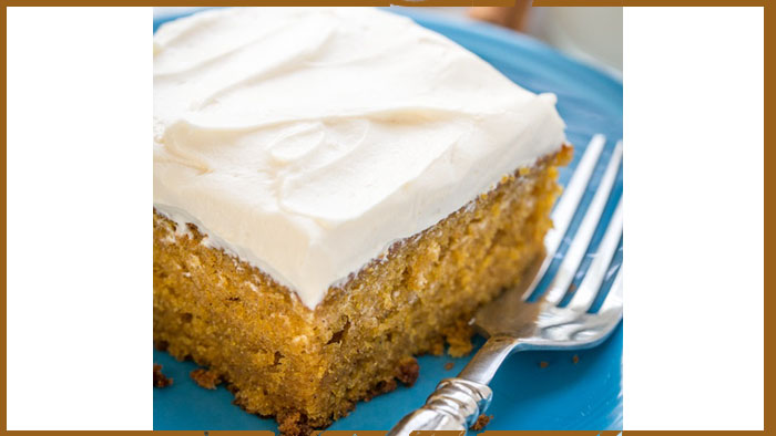 Halloween Recipes – Pumpkin Cake