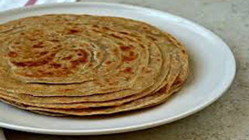 Lachha Paratha – Multi Layered Indian Flat Fried Bread