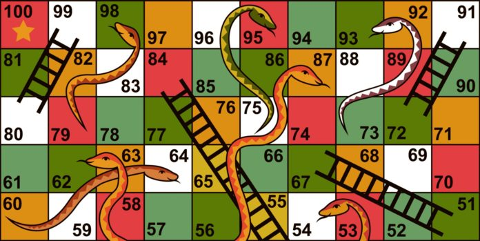 Snakes and Ladders originated in India