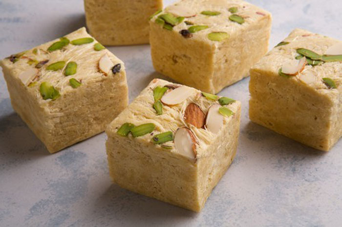 Soan Papdi / Patisa Recipe