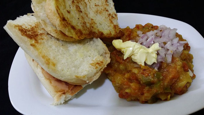 Pav Bhaji – A fast food dish from Maharashtra