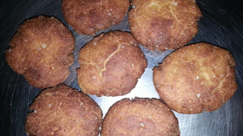 Thekua – Bihari Traditional Sweet Dish.