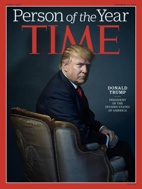 Time magazine person of the year 2016 – Donald Trump
