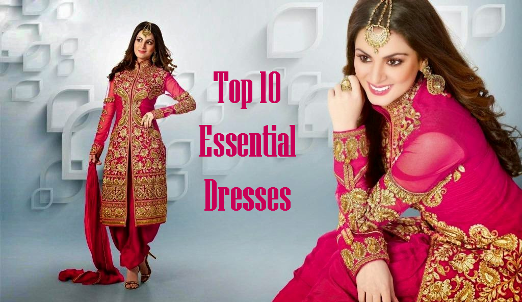 Top 10  Essential  Dresses A Girl Must Have