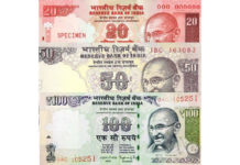 new notes of India