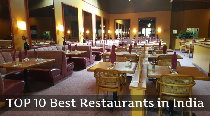 TOP 10 Best Restaurants in India
