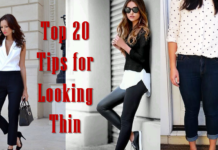 Top 20 Tips for Looking Thin