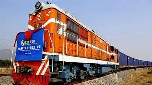 China to London Freight Train