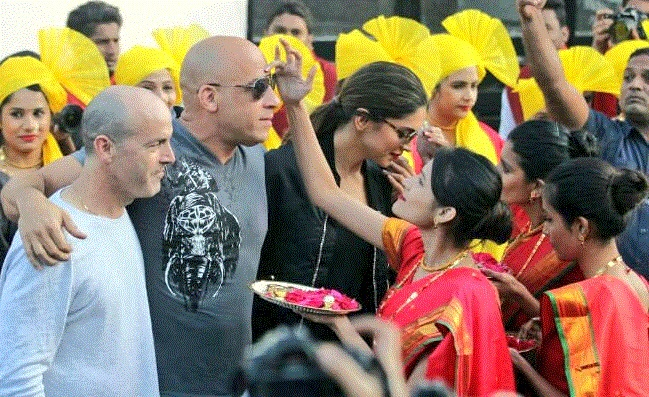Deepika and Vin