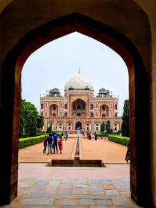 Humayun Tomb from entrance