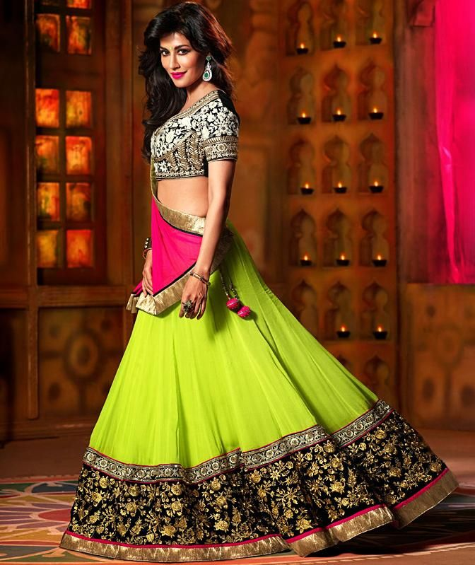 Lehenga Choli Source: fashionwebz.com