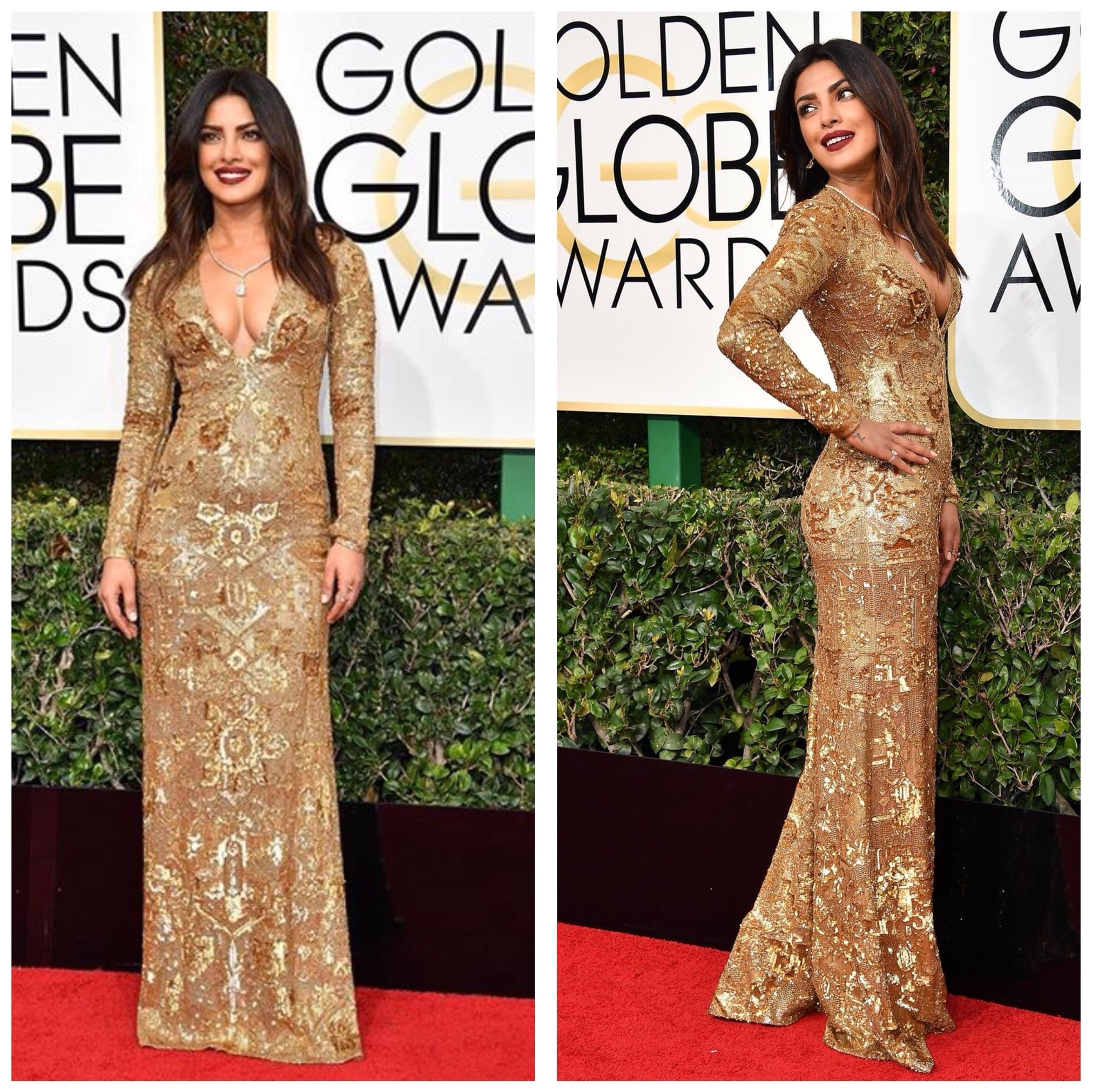 Priyanka Chopra dazzled at Golden Globe Awards