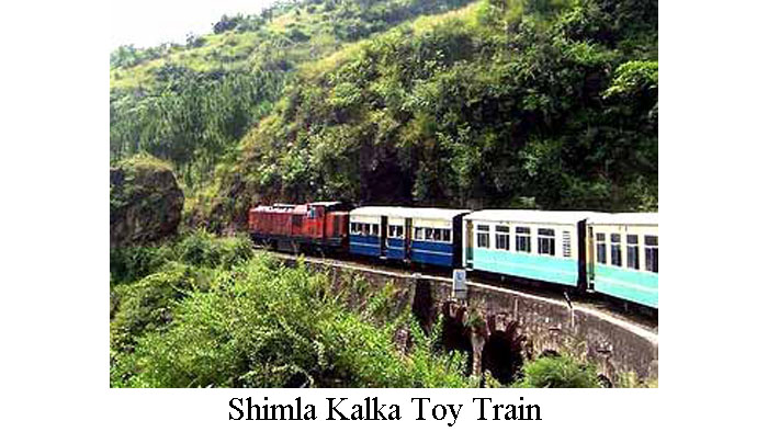 Shimla Kalka Toy Train