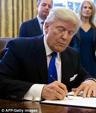 Trump Order Banning Immigrants from Seven Countries