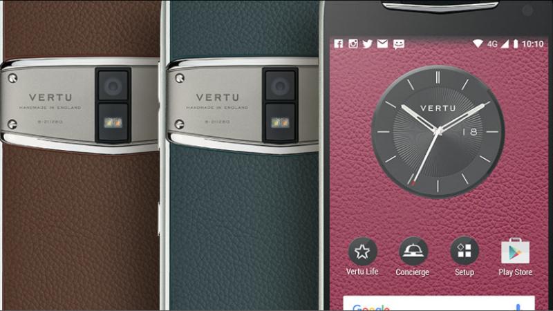 Vertu Constellation Smartphone in India
