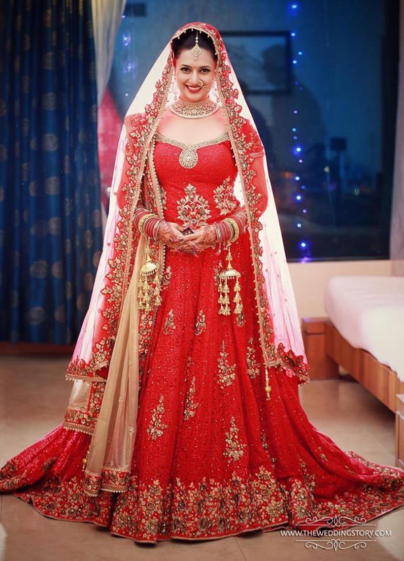Wedding Attire of Bride