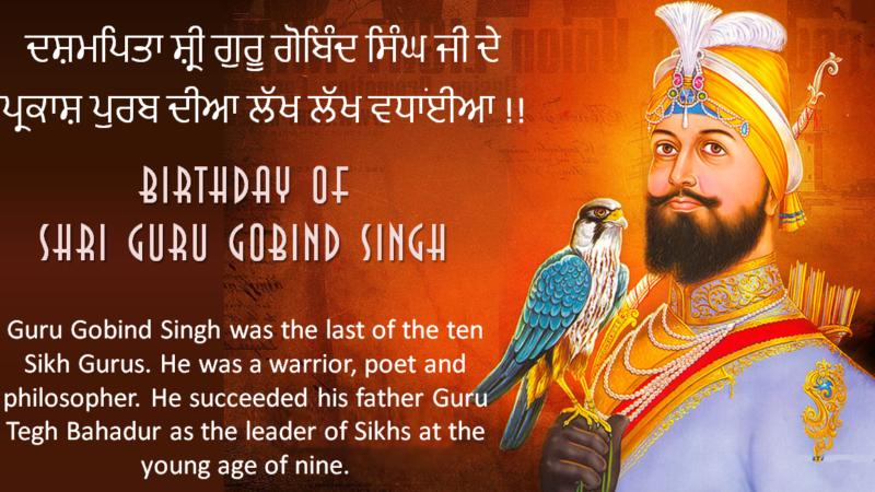 350th Prakash Parv of Shri Guru Gobind Singh Ji