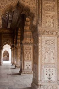 red-fort-delhi inside view