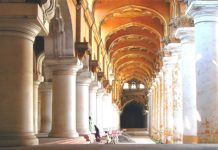 Thirumalai Nayakkar Mahal at Madurai