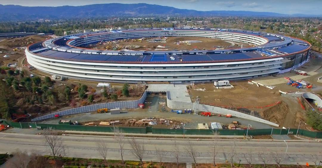 Apple New Headquater In Cupertino, California