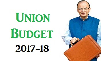 India Union Bugget 2017-18 Key Points