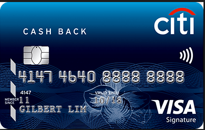 Citibank cashback credit card