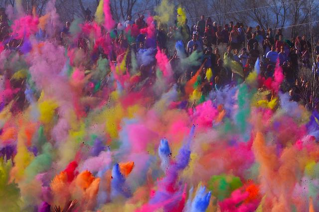 North India for Holi