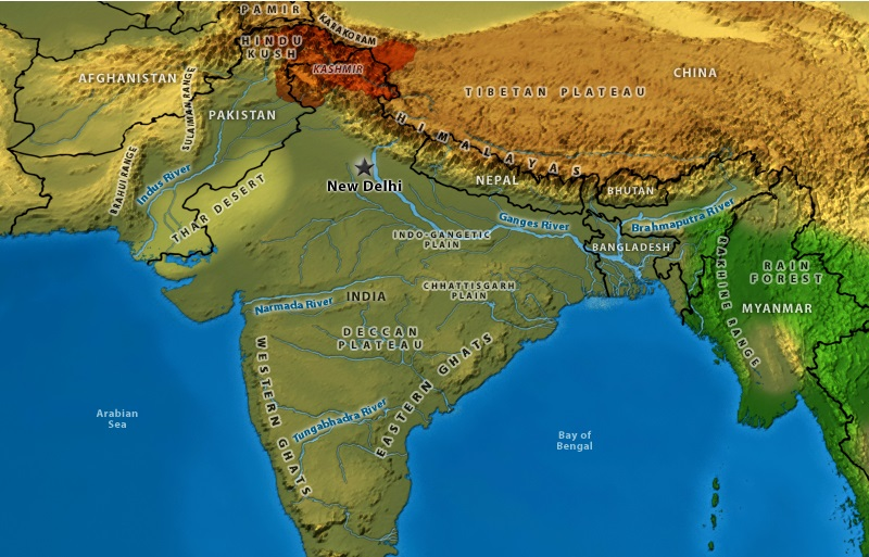 India And Its Geograhy