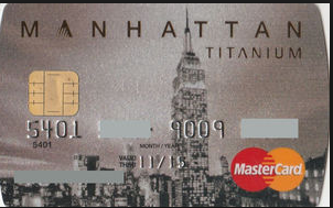 Standard Chartered Manhattan card