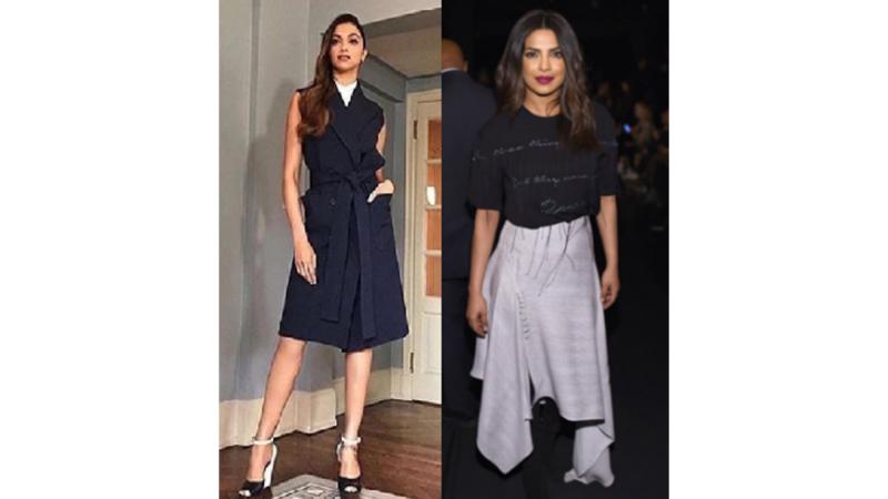 New York Fashion Week – Deepika Padukone and Priyanka Chopra