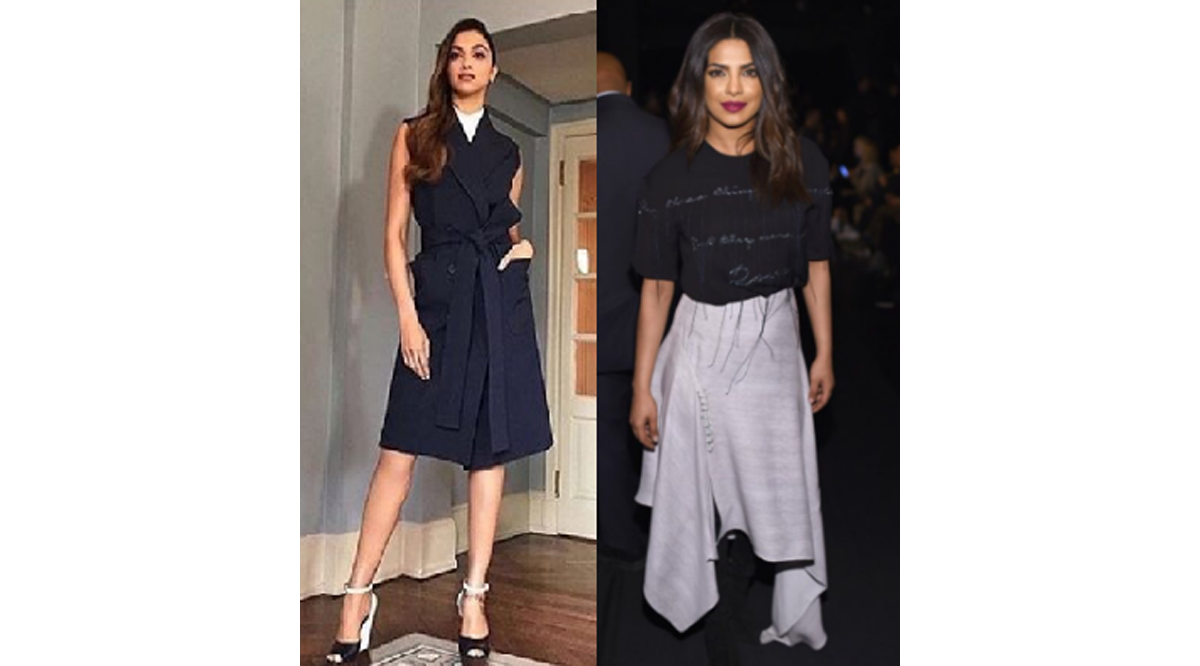 New York Fashion Week – Deepika Padukone and Priyanka Chopra