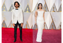 Priyanka Chopra and Dev Patel at Oscar