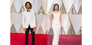 Priyanka Chopra and Dev Patel at Oscar