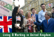 Living Working in United Kingdom