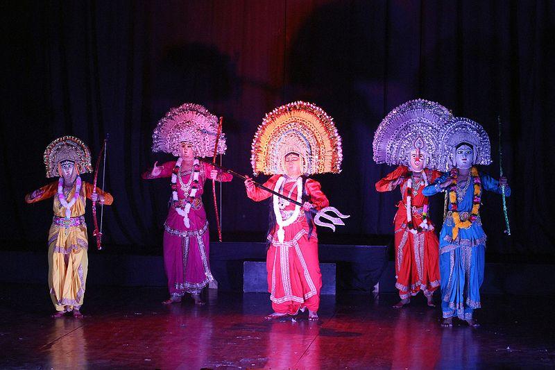 Chhau dance | Purulia Chhau | Mayurbhanj Chhau | Seraikella Chhau