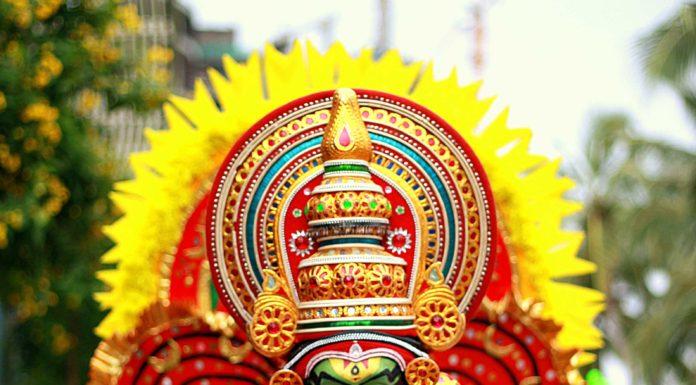 Kathakali dress