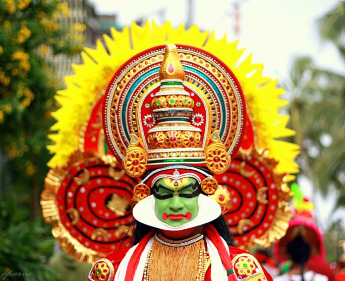 Kathakali dress