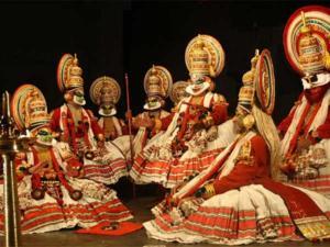 Kathakali group