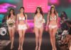 Models at India Intimate Fashion Week