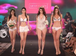 Models at India Intimate Fashion Week