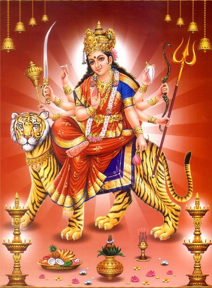 Durga Chalisa in English and Hindi