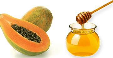 Honey and Papaya Face Pack