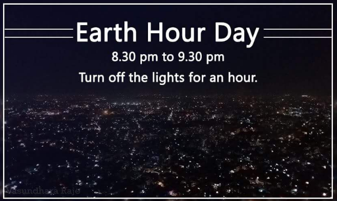 Earth Hour – Turn Off Your Lights For One Hour