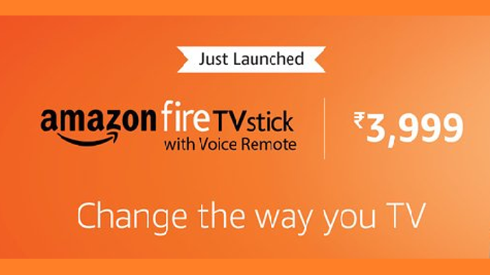 Amazon Launches New Fire TV Stick