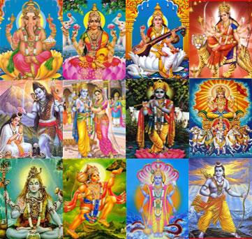 Each Day of  a Week is dedicated to Hindu God