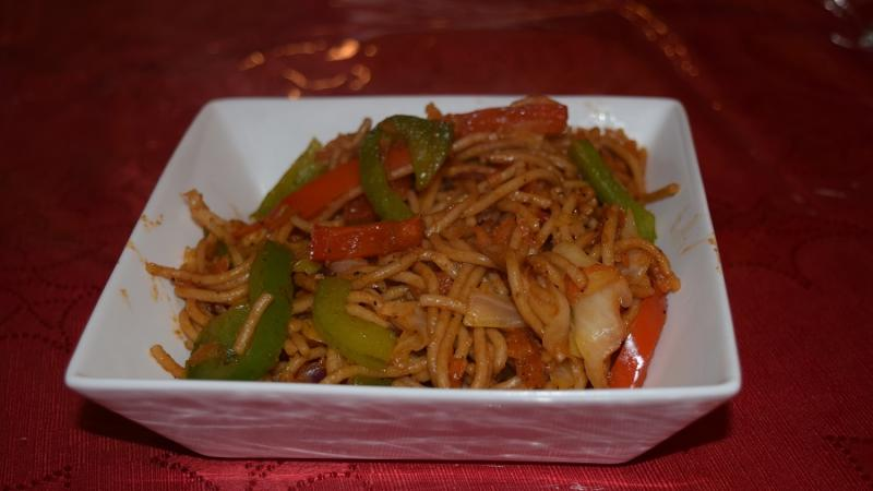 Stir Fry Veg Hakka Noodles